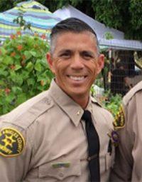 LASD Captain Robert Lewis of the Santa Clarita Valley Sheriff's Station