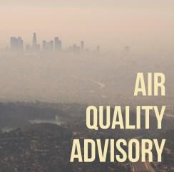 LA County Department of Public Health air quality advisory