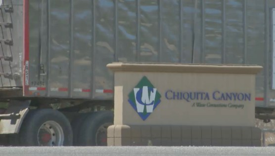 Chiquita Canyon Landfill sign