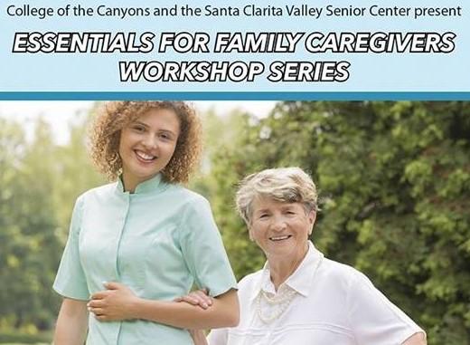 Caregivers Workshops - COC-SCV Senior Center