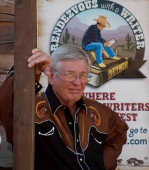 Jim Bell at the Buckaroo Book Store. | Photo: Cindy Stout Quigley