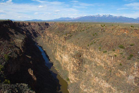 Rio Grand River Gorge looking north toward Santa Fe. | Photo: Betsy Weber/WMC CC 2.0