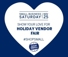 Shop Small Holiday Vendor Fair and fundraiser