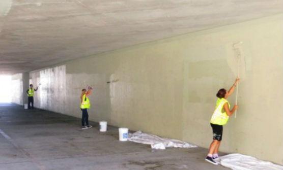 community service grants - graffiti cleanup