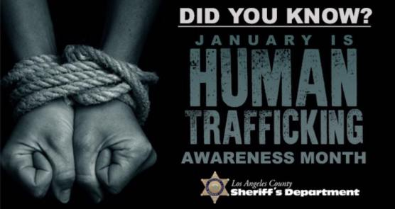 January Human Trafficking Awareness Month
