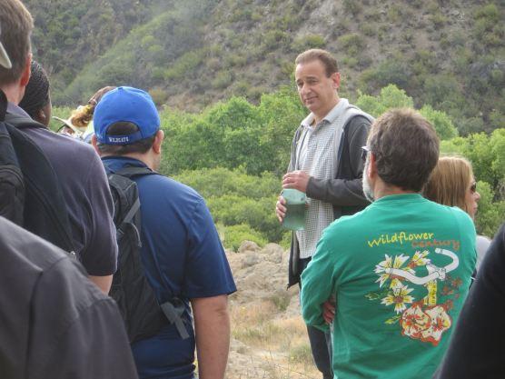 Alan Pollack at St. Francis Dam site.