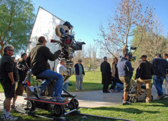 """""""NCIS"""" from CBS shoots in Santa Clarita. Photo: City of Santa Clarita"""