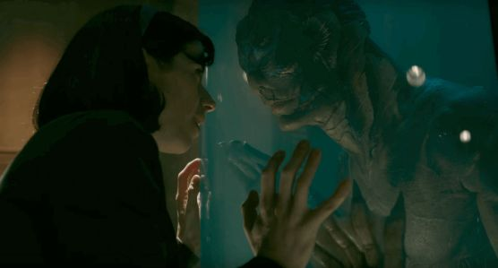 "Screen shot from ""The Shape of Water"""