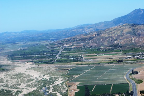 Aerial photo of Newhall Ranch area, looking west toward Fillmore, May 20, 2010. | Photo: Stephen K. Peeples