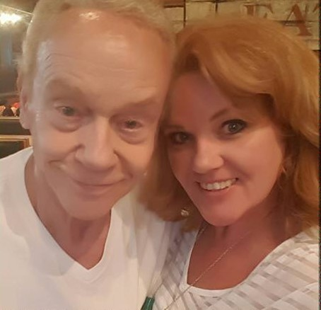 Steve Stone and daughter Amy Stone on his birthday in October 2016.