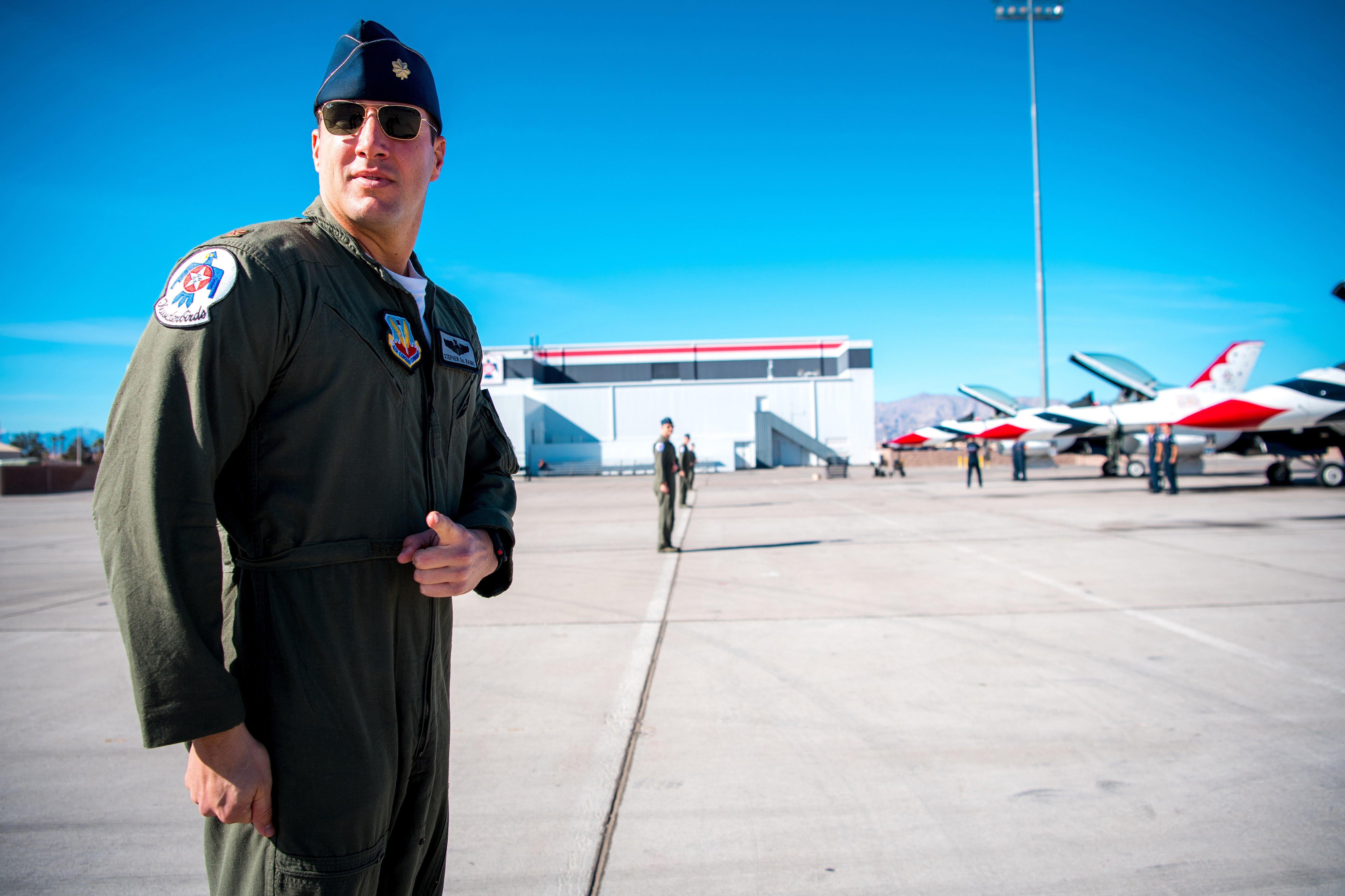US Air Force Pilot, Saugus High Grad Killed in Aerial Demonstration Flight