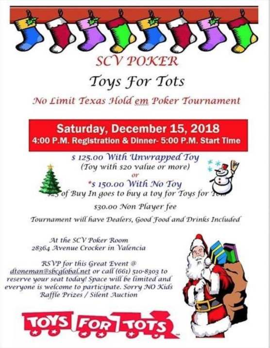 Toys for Tots Poker Tournament