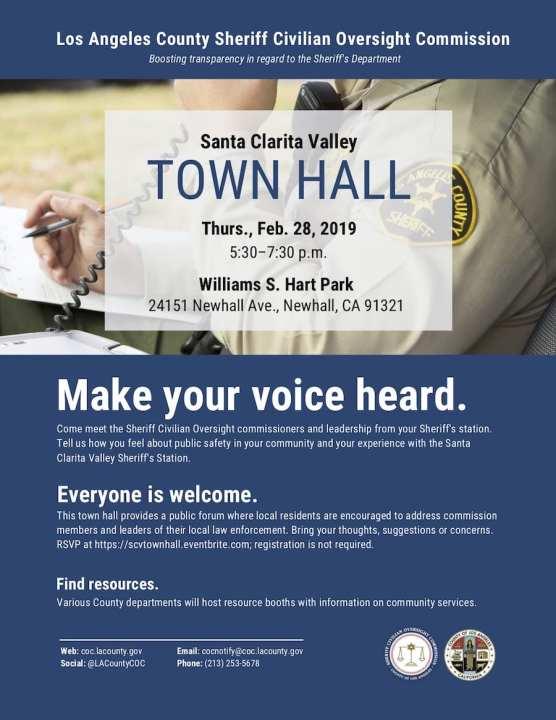 Santa Clarita Valley Town Hall
