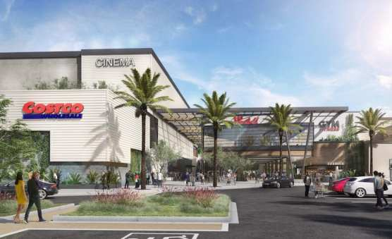 Costco/Town Center Rendering
