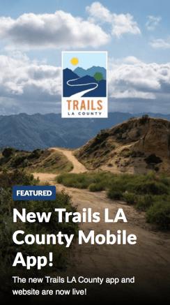 LA County Trails APP