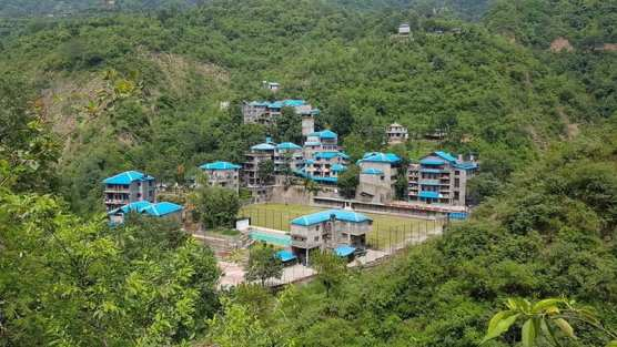 Pinegrove School in India aerial 1