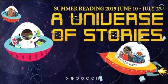 Universe of Stories summer reading program at Santa Clarita Public Library