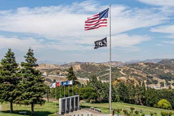 Eternal Valley Flags