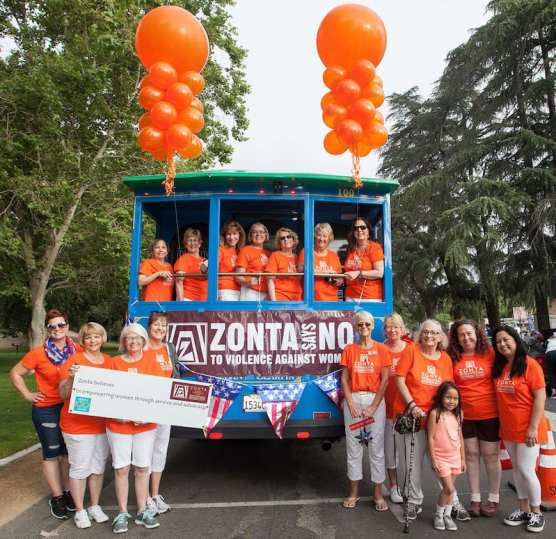 Zonta Say No to Violence Against Women