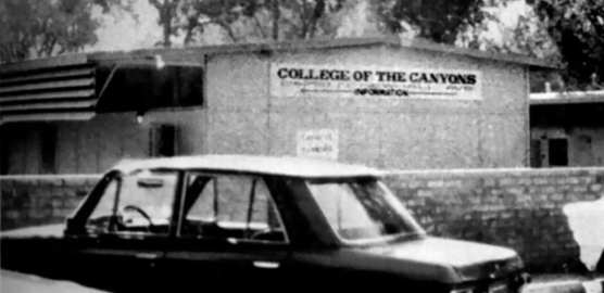 The first College of the Canyons classes began at Hart High School on Sept. 29, 1969.