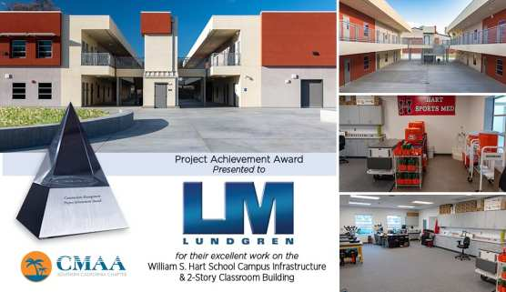 lundgren cmaa award hart high school project