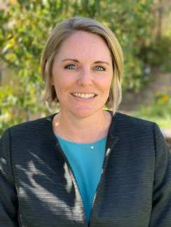 Amanda Montemayor, Newhall School District's new assistant superintendent of human resources.