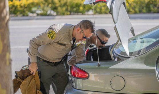 SCV Sheriff's Deputies Search Vehicle