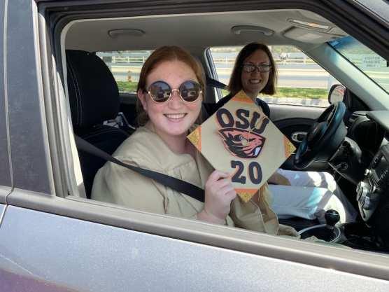Senior Lacey Drive-thru Graduation