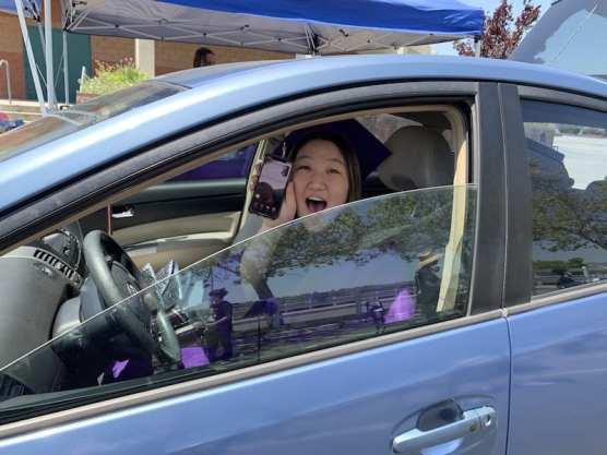 Senior Skylar Drive-thru Graduation