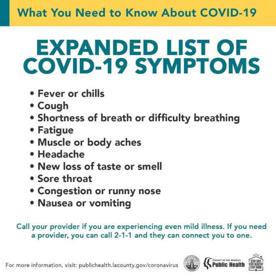 covid-19 cases la county monday june 15