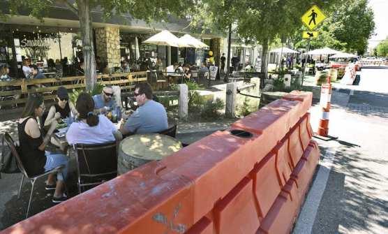 Outdoor Dining Main Street