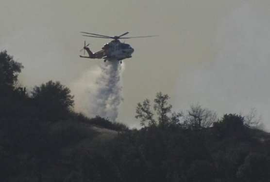 Towsley Canyon Fire 2