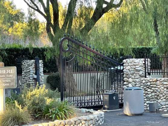 MacMillan Ranch Gate