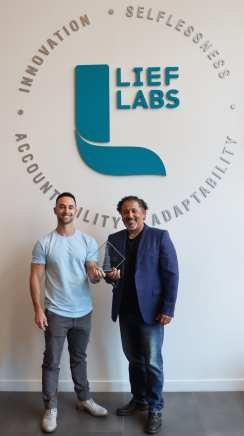 Lief Labs Export Achievement Award