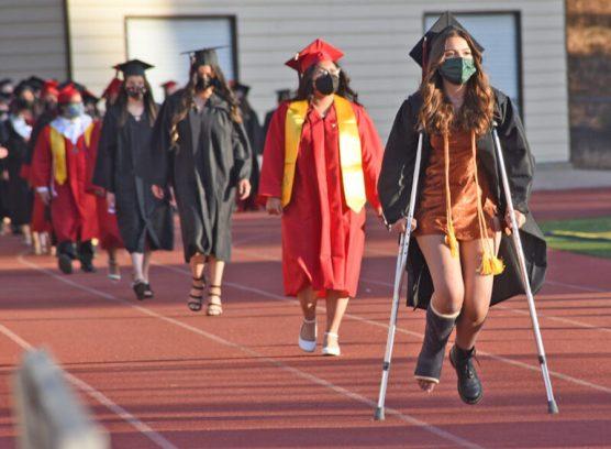 2021 Hart High graduating class