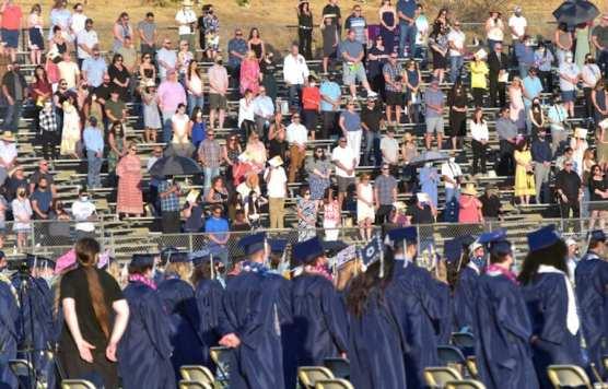 Families at Graduation