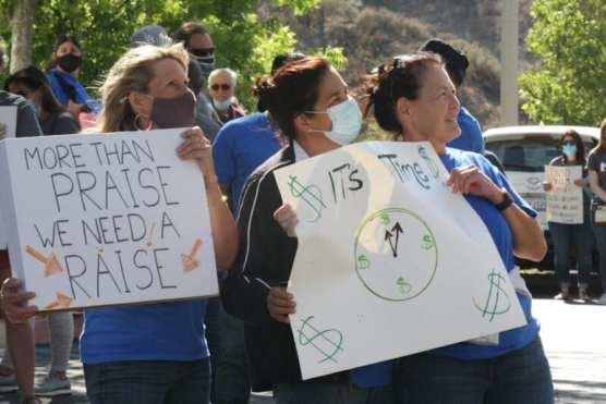 Hart Teacher Protest 3