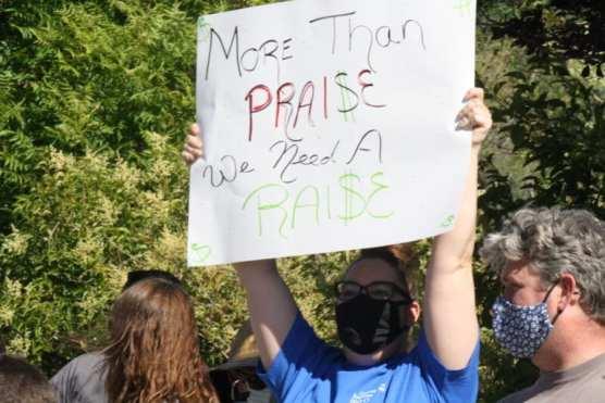 Hart Teacher Protest 2
