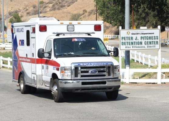 Ambulance Leaves Pitchess