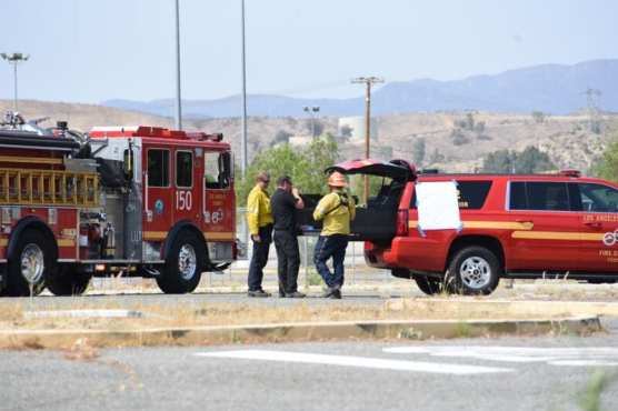 LACoFD Arrives at Pitchess