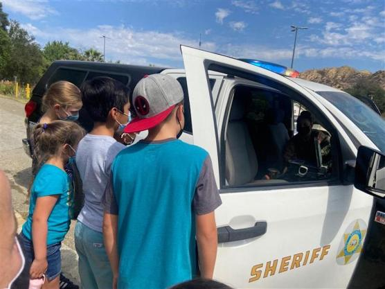 Sheriff Visit to Val Verde