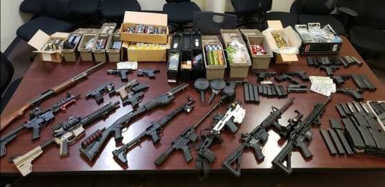 Weapons Bust
