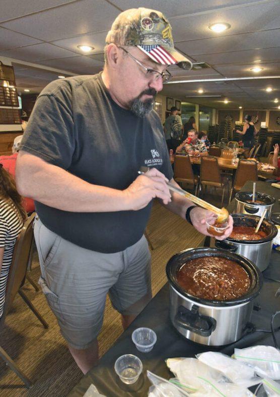 Chili Cook-off judge Michael Angulo