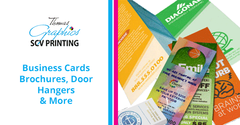 For all your printing needs, SCV Printing has got you covered!