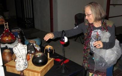 Gourd artist Nadiya Littlewarrior