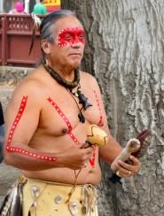 Dennis Garcia, descendant of inhabitants of the Santa Clarita Valley prior to European contact (1769); Chumash educator