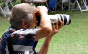 2-time Pulitzer Prize winning photographer and friend of the Hart of the West Powwow Ken Lubas