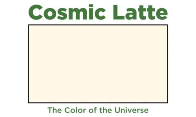 What was the first color in the universe?