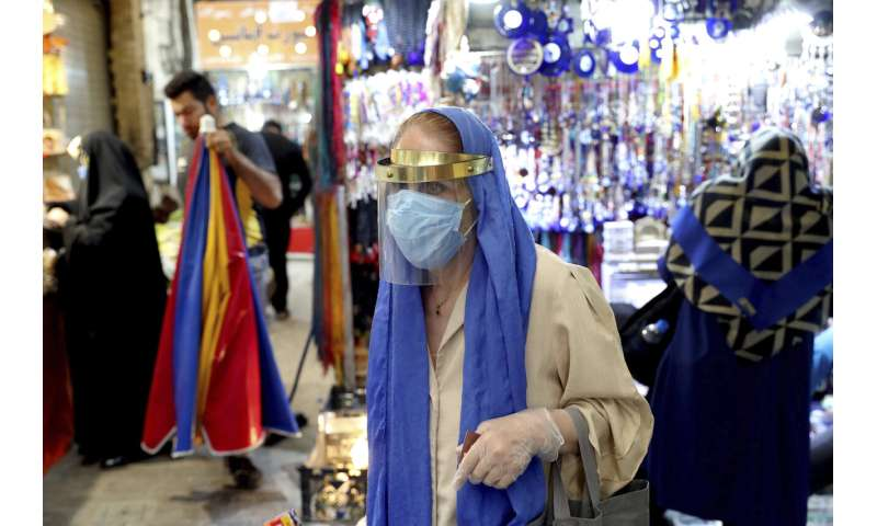 Iran announces its virus death toll passes 30,000
