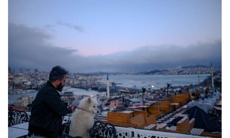 The best way to gaze at the Bosphorus from Istanbul is sitting next to man's best friend